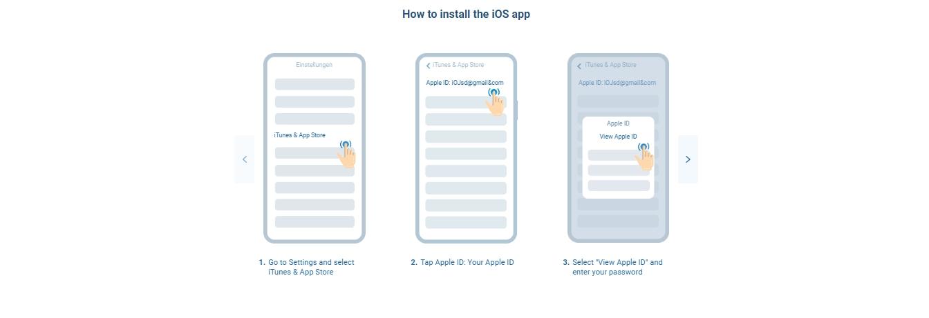 1xBet Mobile App für iOS